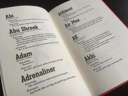 Dansk engelske ord EcoRI guide